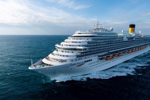 Costa получила новый корабль для китайского рынка