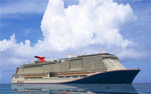 Carnival начали строительство нового лайнера