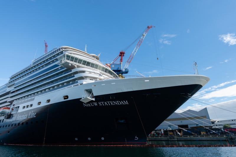 Презентован новый круизный лайнер Holland America Line
