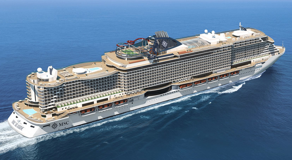 MSC заложили новый лайнер класса Seaside EVO