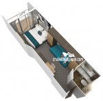 Каюта с балконом Boardwalk View: категория 1I