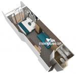 Каюта с балконом: категория 1D
