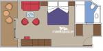Сьют Deluxe Yacht Club категории YC1